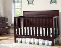 Fancy Crib Bedding Delta Children Fancy 4 In 1 Crib Chocolate Baby