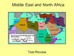 middle east map test middle east and africa test review the middle east and