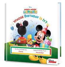 happy birthday book birthday book disney s mickey mouse whose birthday is it put