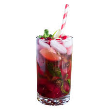 pomegranate mojito cocktail party social and cocktail