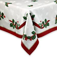 bed bath and beyond christmas table linens buy round accent table tablecloth from bed bath beyond