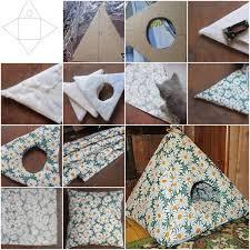 How To Make A House Cozy Easy Diy Cat Tent Home Design Garden U0026 Architecture Blog Magazine