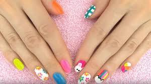 imagenes de uñas pintadas pequeñas uñas decoradas paso a paso 400 modelos de uñas originales