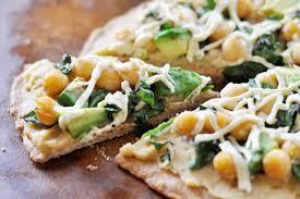 Hummus Kitchen Vegan Hummus Avocado And Chickpea Pizza The Colorful Kitchen