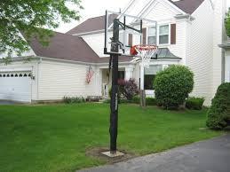 furniture stunning portable basketball hoop for backyard floor