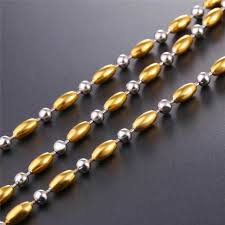 bead charm necklace images Online shop nice quality beads charm necklace men women latest jpg
