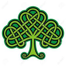 shamrock celtic tattoo vector royalty free cliparts vectors and