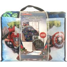 Avengers Comforter Set Full Marvel Avengers Bed In A Bag 5 Piece Twin Bedding Set With Bonus