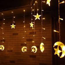 Led Lights For Home Decoration 6m 168 Led Light String Moon Shape Curtain Light