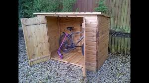bike storage shed by optea referencement com youtube