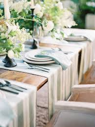 table setting runner and placemats like multiple table runners instead of placemats gastronomic