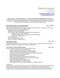 Strategy Resume Resume U2014 Sterling Hayman