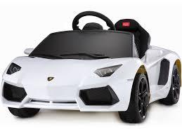 lamborghini white price rastar lamborghini aventador lp700 4 6v white battery powered