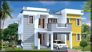 1500 Square Feet House Plans by Front Elevation Of Duplex House In Sq Ft With Stunning 1500 Square