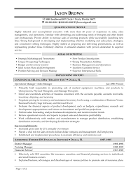 marketing sales resume sample resume sales and marketing