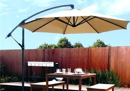 Cantilever Patio Umbrella With Base Idea Square Patio Umbrella Or Square Bamboo Cantilever Umbrella