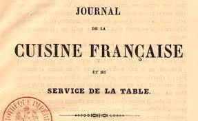 journal de cuisine presse culinaire gallica