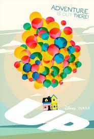 new poster pixar u0027s up u2014 laz marquez