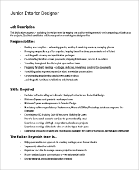 Requirements For Interior Designing Requirements For Interior Design Jobs