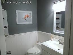 half bathroom paint ideas frugal and thankful our half bath reveal