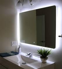 Bathroom Sink And Mirror Windbay 36 Backlit Led Light Bathroom Vanity Sink Mirror