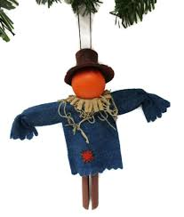scarecrow clothespin ornament garden scarecrow