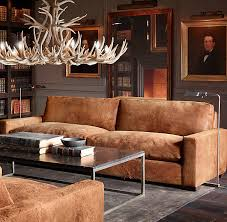 Chestnut Leather Sofa Maxwell Leather Sofas Rh Apartmentdesign Pinterest Leather