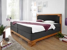 Schlafzimmer Komplett Mit Boxspringbett Bellamie Boxspringbett Mit Massivem Holzrahmen 160 X 200 Cm