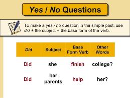 the simple past regular u0026 irregular verbs