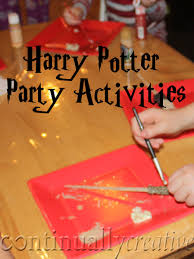 great ideas for harry potter birthday party activities i