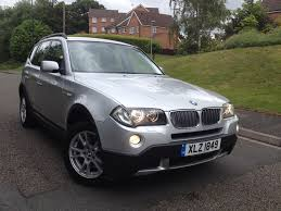 Bmw X3 Disel Used Bmw X3 2008 For Sale Motors Co Uk