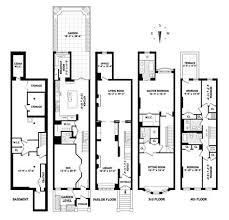brownstone floor plans new york city collection of nyc brownstone floor plans brownstone floorplans