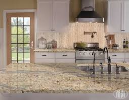 How To Install A Kitchen Backsplash Video Crema Arched Herringbone Polished Mosaics