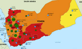 Yemen On World Map by Map Of The Day In Yemen A Looming Famine And Current Cholera