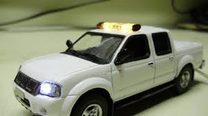 nissan frontier model years custom 1 43 scale nissan frontier safety truck diecast model with