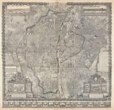 Maps Of Paris France by File 1652 Gomboust Map Of Paris France C 1900 Taride Reissue