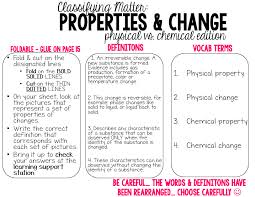 physical and chemical properties worksheet worksheets