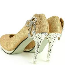gold wedding shoes for high heels wedding shoes