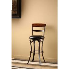 Swivel Counter Stools With Back Hillsdale Furniture Kennedy 26 In Black Gold Swivel Cushioned Bar