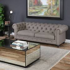 Classic Chesterfield Sofa Chesterfield Couch Sofas Loveseats U0026 Chaises Ebay