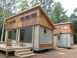 log cabin modular house plans compact modular pre fab cottage made from local materials sits