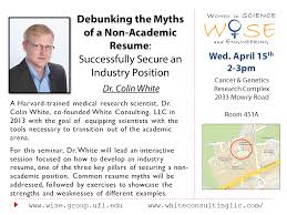 debunking the myths of a non academic resume successfully secure