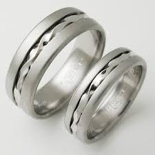 Wedding Ring Price by Genoa 2 Titanium Ring With Palladium Titanium Wedding Rings