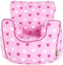 cotton patchwork ladybird bean bag arm chair with beans amazon