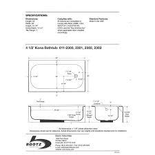 American Standard Cambridge Bathtub Standard Tub Depth Nujits Com