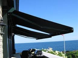 Commercial Retractable Awnings Canvasworks Inc In Kennebunk Maine For Storm Shutters And All
