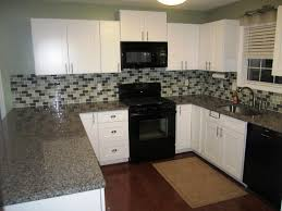 kitchen cabinets and countertops ideas white shaker kitchen cabinets with granite countertops ideas