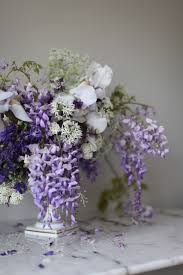 Spring Flower Arrangements Iris U0026 Wisteria Spring Flower Arrangement