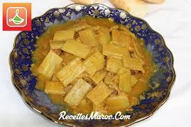 cuisiner des cardons recette tagine de boeuf aux cardons recettes maroc
