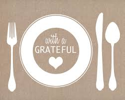 thankful placemats eat drink be thankful your day